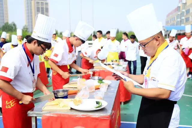 刀尖上的对决!宁夏新东方烹饪学校第三届刀工王争霸赛隆重举行!