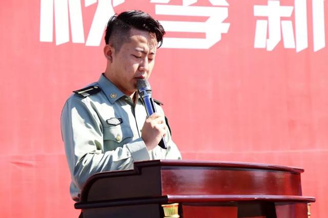 加油少年!|宁夏新东方2018年秋季新生军训开幕式暨动员大会圆满举行