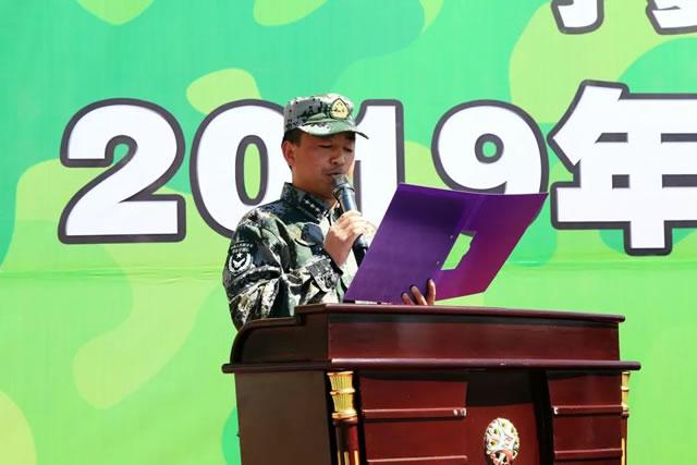 2019年宁夏新东方烹饪学校春季军训动员大会隆重举行