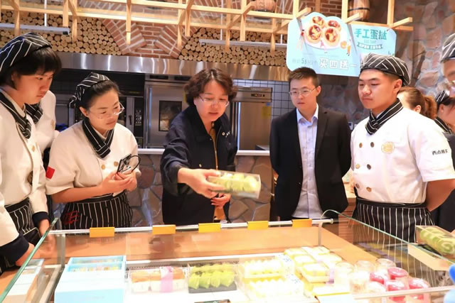 企业参观--我校学生赴宁夏麦尔乐食品股份有限公司参观学习