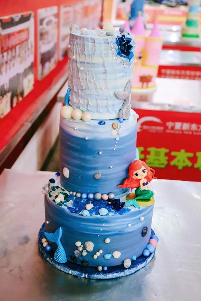 裱花、网红蛋糕创意大赛,香浓诱人创意十足