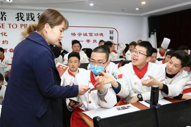 企业宣讲 宝什利德酒店走进宁夏新东方烹饪学校做企业宣讲