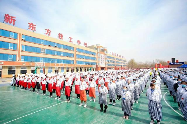 多彩校园,正青春:宁夏新东方烹饪学校社团招新啦!