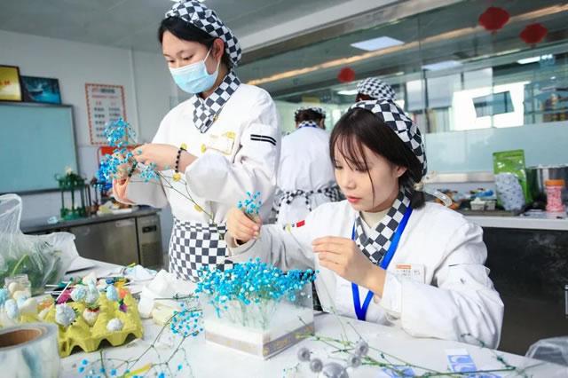 """宁夏新东方烹饪学校""""第六届烘焙大赛""""盛大举行"""